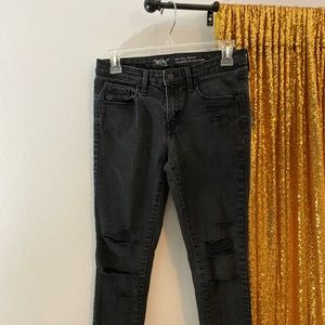Mossimo Black Ripped Jeans